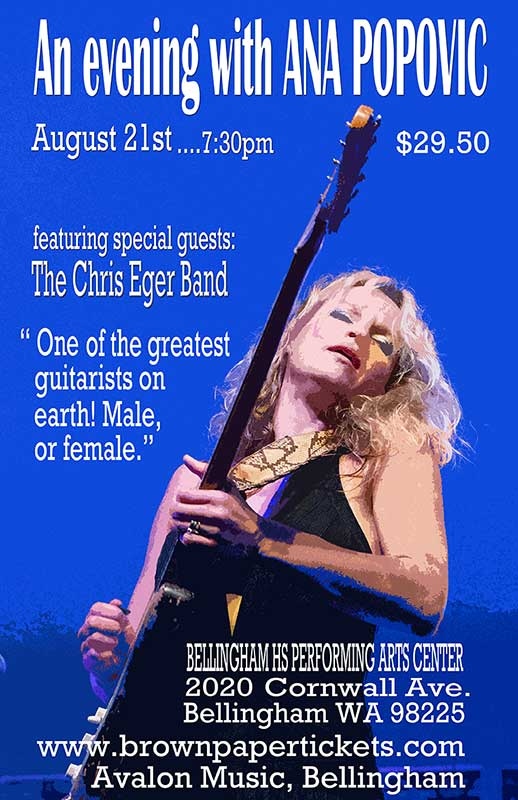 An Evening with Ana Popovic