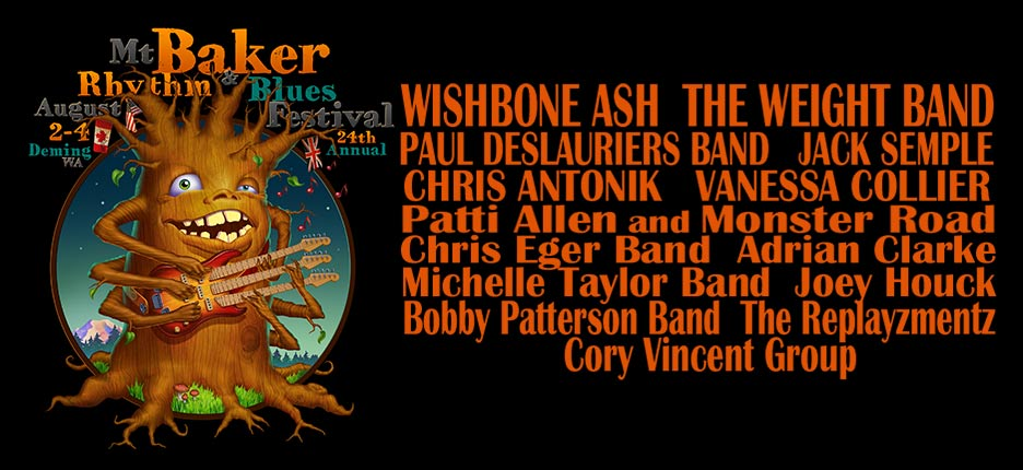 Baker Blues 2019 Lineup